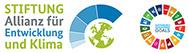 Logo SDG Wheel - Logo Allianz für Entwicklung und Klima